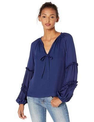 Ramy Brook Women's Arlie Long Sleeve Blouse