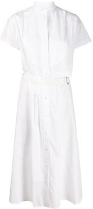Sacai Cutaway Shirt Dress