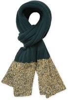 "Missoni Men's Wool Ribbed Scarf, 70.5"" x 13.5"""