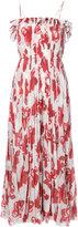 ADAM by Adam Lippes floral print maxi dress - women - Polyester/Silk - 0