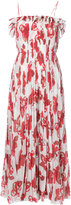 ADAM by Adam Lippes floral print maxi dress - women - Silk/Polyester - 0