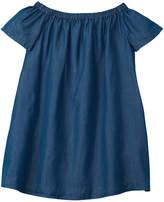 Ralph Lauren Polo Girls' Off-The-Shoulder Shift Dress