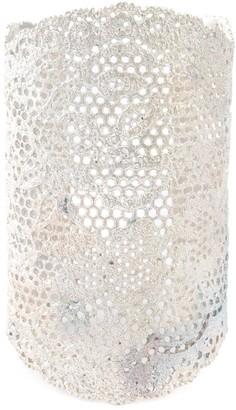 Aurelie Bidermann large 'Vintage Lace' cuff