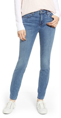 NYDJ Ami Ikattile Embroidered Stretch Skinny Jeans