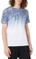 Topman Men's Slim Fit Fade Print T-Shirt