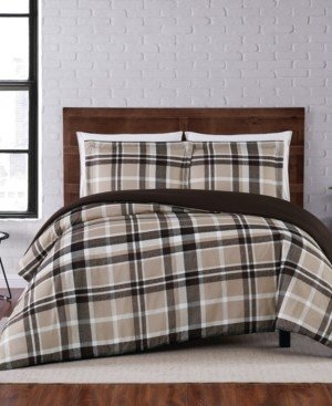 Truly Soft Paulette Plaid Twin Xl Duvet Set Bedding