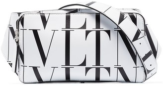Valentino VLTN print leather bag