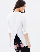 Oasis Wrap Back Shirt