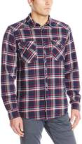 Silver Jeans Men's Flannel Button Up Shirt