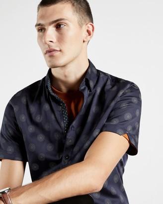 Ted Baker Cotton Geo Shirt