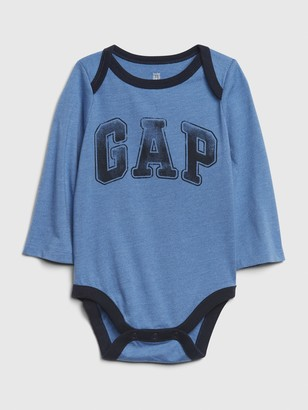 Gap Baby Long Sleeve Logo Bodysuit