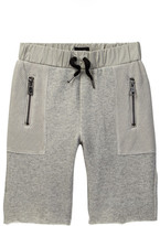 Hudson French Terry & Mesh Short (Toddler & Little Boys)