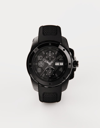 Dolce & Gabbana Ds5 Watch In Steel With Pvd Coating