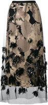 Dries Van Noten Schiller embellished skirt