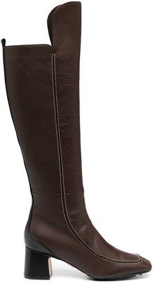 Rodo Square-Toe Knee-Length Boots
