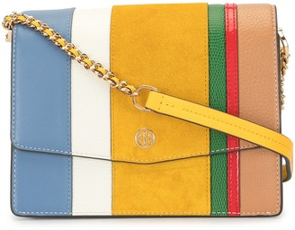 Tory Burch Robinson colour-block bag