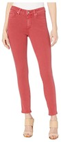 Paige Hoxton Ankle Jeans in Vintage Bright Garnet (Vintage Bright Garnet) Women's Jeans