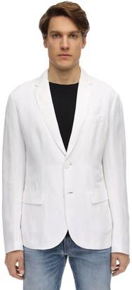 Armani Exchange Linen & Viscose Blazer