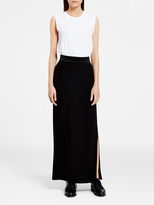 DKNY Maxi Skirt With Side Slit