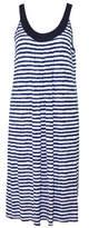 Yuu Blues Sleeveless Stripe Sleep Dress