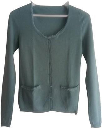 John Galliano Blue Cashmere Knitwear