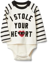 Gap Heart graphic baseball body double