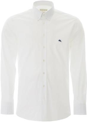 Etro Button-down Shirt With Pegaso Embroidery