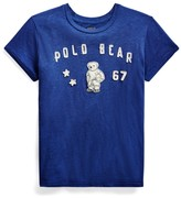 Ralph Lauren Polo Bear Patch Jersey Tee