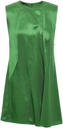 Victoria Beckham Draped Satin-crepe Top