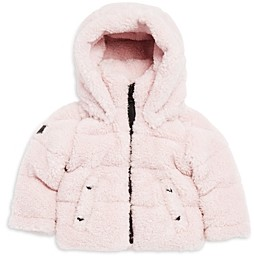 SAM. Girls' Hooded Faux Fur Down Jacket - Baby
