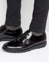 Kickers Kymbo Leather Derby Shoes