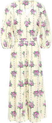 Emilia Wickstead Ludmilla California Cotton-poplin Midi Dress