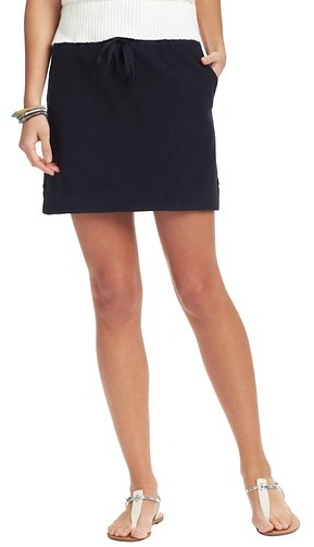 LOFT Terry Mini Skirt