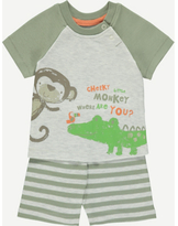 George Cheeky Monkey Top and Shorts Set