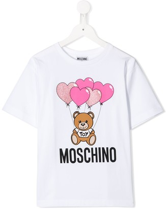 MOSCHINO BAMBINO teddy bear balloon T-shirt