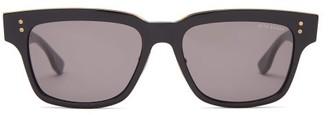 Dita Eyewear Auder Square Acetate Sunglasses - Black
