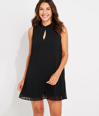Vineyard Vines Pleated Tiny Stars Swing Dress