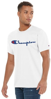 Champion Heritage Embroidered Short Sleeve T-Shirt - White