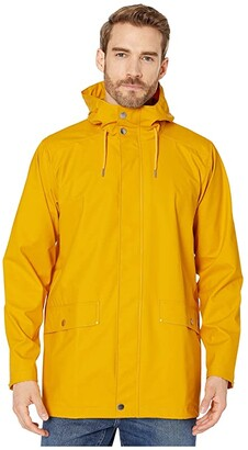Helly Hansen Moss Rain Jacket (Yellow) Men's Coat