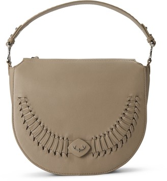 River Shoulderbag Crossbody Backpack Personalizable In Antler Taupe