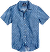 American Rag Men's Denim Jacquard Floral Shirt, Created for Macy's