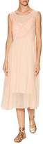 Plenty by Tracy Reese Romantic Embroidered Midi Dress