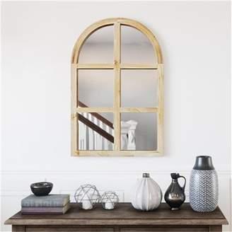 Aspire Home Accents Matherne Farmhouse Arch Wall Mirror