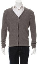 James Perse Wool V-Neck Cardigan