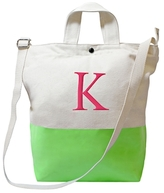 Personalized Color Dipped Tote