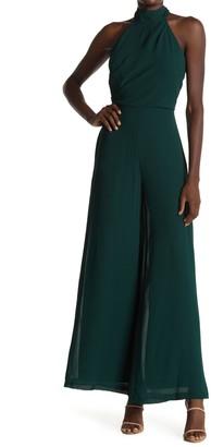 Gabby Skye High Neck Dress