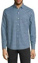 Zachary Prell Speer Check Cotton Shirt