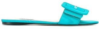 ATTICO Buckle Open-Toe Sandals