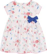 Petit Bateau Floral print cotton dress 3-24 months