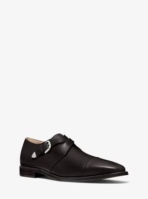 Michael Kors Robbie Leather Monk Strap Oxford